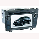 7-polegadas touch screen carro Honda CRV dvd player dual zone gps controle volante do sistema (szc612)