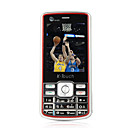 K-touch v666 dual carto de toque de telefone celular de tela preta (szhx0051)