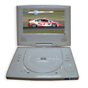 7-inch Portable DVD Player with TV Function, USB Port and 3-in-1 Card Reader(SMQ2445)