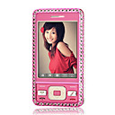 GIONE N18 Dual Card Setting Diamond Touch Screen Cell Phone Pink(Not For U.S/Canada)