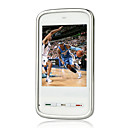 MINI5800(KA09) Dual Card Quad Band Ultra-thin Flat Touch Screen Cell Phone White