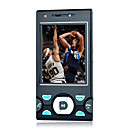 W995 Dual Card Quad Band Dual Camera TV Function Cell Phone Black (2GB TF Card)