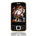 N96 Java Dual Card Bluetooth Touch Screen GSM+CDMA Cell Phone Black+2GB TF Card