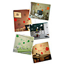 2-pc Flowers Wall Sticker (0565-gz110)