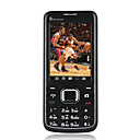Long Ke S330 Dual Card Quad Band Touch Screen Cell Phone Black (2GB TF Card)(SZ00720125)