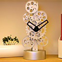 Vertical Gear Table Clock (Made in Japan) (CEG107)