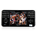 D01 Dual Card Bluetooth Touch Screen FM TV Games Cell Phone Black (2GB TF Card)