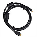 HDMI Cable Male to Male 28AWG with Ferrite Core for PS3 DVD HDTV(SMQC157)