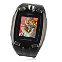 M810 Tri Band Unlocked Touch Screen Bluetooth Watch Cell Phone Black (2GB TF Card)