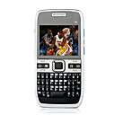 E72 Quad Band Dual Card Dual Standby Ultra Thin QWERTY Keypad Bar Cell Phone Black (2GB TF Card)