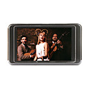 2gb 3,0 pollici MP4/MP3 player grigio e nero (szm760)