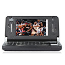 E920 QWERTY Keypad Dual Card Dual Screen Bluetooth FM Games Touch Screen Cell Phone Black (2GB TF Card and Holster)