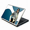 Michael Jackson Series Laptop Notebook Cover Protective Skin Sticker with Wrist Skins (SMQ3418)
