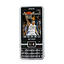 T9 dual card dual band touch screen cellulare nero e argento (2GB TF card) (sz05450316)