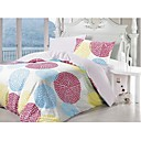 4-pc Queen Size Beautiful Christmas Eve Printing Cotton Full Size Duvet Cover Set - Free Shipping (0580-9S707003S)