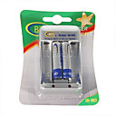 BTY-1000 Mini 1.2V AA/AAA Battery Charger with 2*AAA 400mAh Ni-MH Batteries Kit