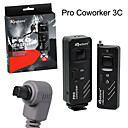 Aputure Pro Coworker 3C Wireless Remote Rf Radio Shutter Release for Canon 50D 30D 5D 20D 1V 1VHS D60 D30 1D Mark III (CCA170)