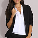 revers single-breasted blazer maat van vrouwen (0101ba002-0677)