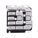 Repair Part Replacement Keypad for Nokia 7260 (Silver)