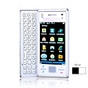 X2 Quad Band Dual Card JAVA Qwerty Keypad Dual Camera Dual Flashlight Touch Screen Cell Phone (2GB TF Card)