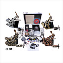 Free Shipping Professional Tattoo Machine Kit Completed Set With 4 Tattoo Gun Mahcines
