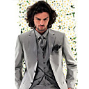 Single-Breasted 3 Button Side-vented  Notch Lapel Standard Wool  Groom Wear/ Tuxedo/ Men's Suit Jacket & Pants