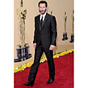 2010 Oscar Keanu Reeves  1 Button  Center-vented Notch Lapel Standard Groom Wear/ Tuxedo/ Men's Suit Jacket and Pants
