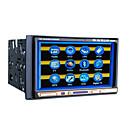 7-inch Touch Screen 2 Din In-Dash Car DVD Player TV and Bluetooth Function XD-7278