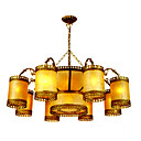 Elegant Column 8-light Hanging Chandelier(0860-D-8802-8+4)