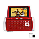 t559 doppia scheda dual quad-band con schermo tv qwerty tastiera touch screen del telefono cellulare (2GB TF card) (sz00720736)