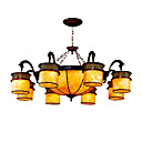 Elegant 8-light Hanging Lamp(0860-MD-8086-8+3)