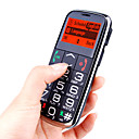 S58 Single Card Dual Band Big Keypad for Daddy with Torch Cell Phone Black