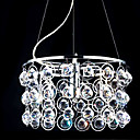 Modern 6-light Crystal Pendant(0863-4556)