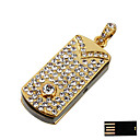 Luxurious Cube-type Jewelry USB Flash Drive - Optional Memory From 2GB to 16GB (SMQ4753)