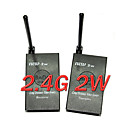 2.4GHz 2W Wireless Audio Video Transmitter Receiver(H300404227458)