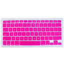 Silicon QWERTY Keyboard Cover for Mac Book (Pink)