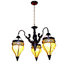 Rural Style Chandelier with 3 Lights