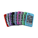 caisse de silicium pour iPhone 3G/3GS 9 couleurs 9 pices par paquet (kly122)