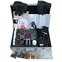 Livraison gratuite tatouage kit machine srie complte avec 3 mitrailleuses de tatouage (0359-5.26-53)