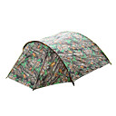 8 X 7-Feet Six-Person Family Double Layer Camouflage Tent(0956-05.31-HW-9)