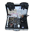 Free Shipping Tattoo Machine Kit Completed Set With 3 Tattoo Gun Machine(0359-5.26-41)
