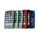 Housse en silicone pour iPhone 3G/3GS 6 couleurs 6 pices par paquet