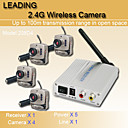 2.4GHz CCTV Security Wireless CMOS Camera Audio Monitoring Suitable for Children and the Elderly