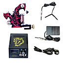 1 Handmade Tattoo Machine and LCD Power Supply Combo