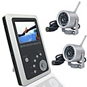 2.5 Inch TFT LCD 2.4GHz Wireless DVR Baby Monitor Kit with1/3 CMOS Camera with Night vision