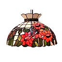 Bloom Floral 2-light Tiffany Pendant Light (0923-TF-P8)