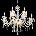 Candle 8-light K9 Crystal Chandelier(0944-HH11019)