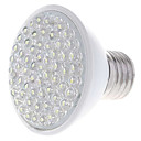 E27 3.5W 6000-6500K Natural White Light LED Spot Bulb (220V)
