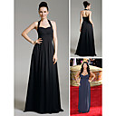 Kourtney Kardashian Empire Sweetheart Floor-length Chiffon Emmy/ Evening Dress (FSD0364)