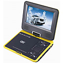 7,5-Zoll Tragbarer DVD-Player mit TV-Funktion USB-Anschluss und 3 in 1 Kartenleser und Spiel (qw189)